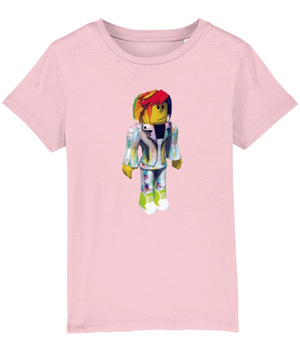 pixel artist from Roblox, child's T-shirt pixel artist