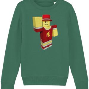 alexnewtron Roblox child's sweatshirt