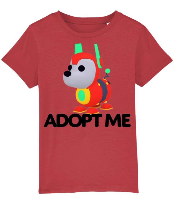 robo dog adopt me child's t-shirt adopt me