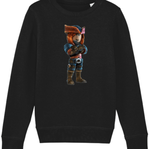 ezebel queen of pirates from Roblox Child's Sweatshirt