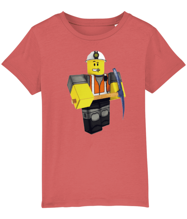 epic miner from Roblox child's t-shirt epic miner