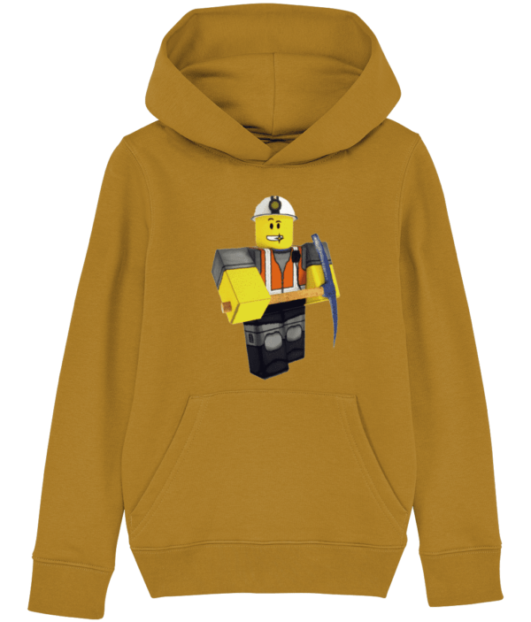 epic miner from Roblox, child's hoodie epic miner