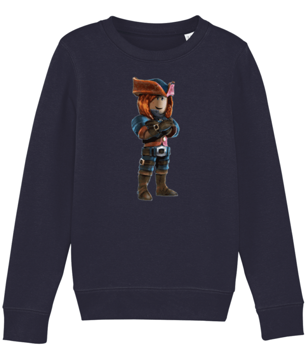 ezebel queen of pirates from Roblox Child's Sweatshirt ezebel queen of pirates