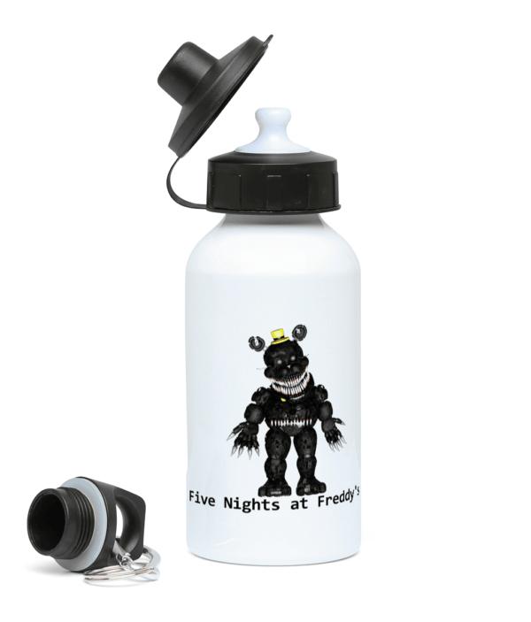 black primate robot 400ml Water Bottle black primate robot 400ml Water Bottle