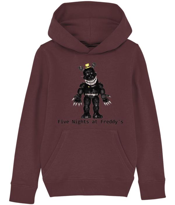 black primate robot from Five nights at Freddy's hoodie black primate robot