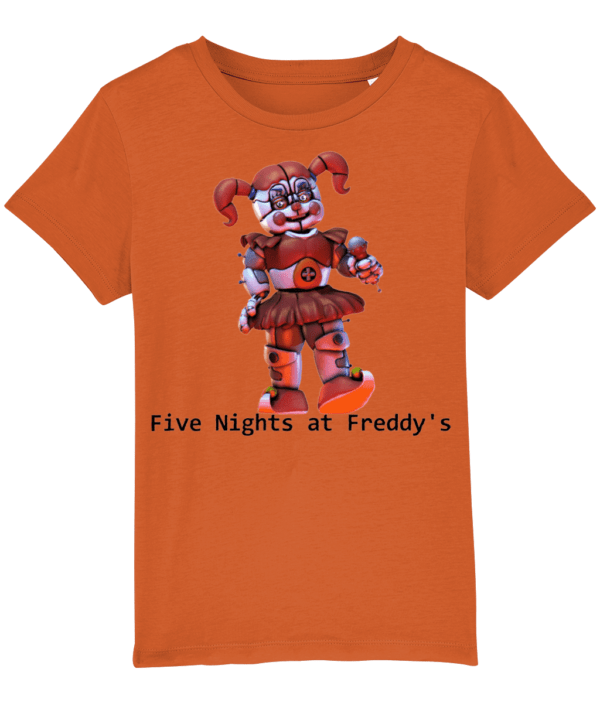 toy baby from Five nights at Freddy's child's t-shirt five nights