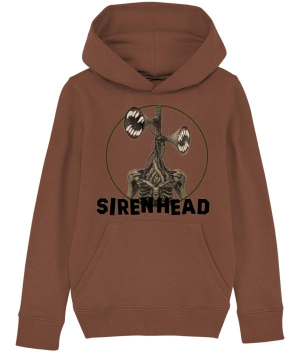 Siren head big teeth child's hoodie siren head