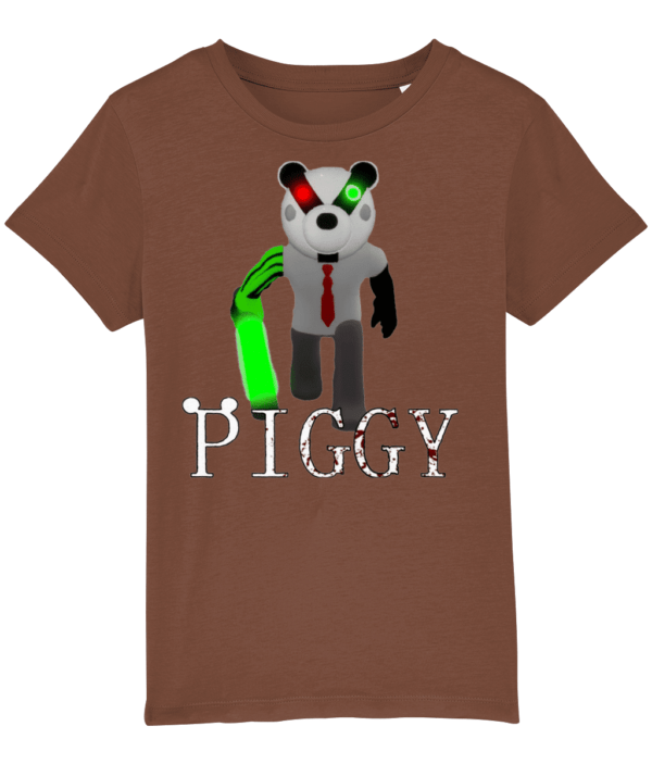 Badger from piggy roblox game child's t-shirt badger