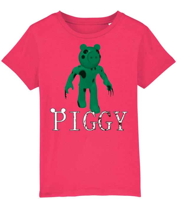 dino piggy from piggy game in roblox child's t-shirt dino piggy