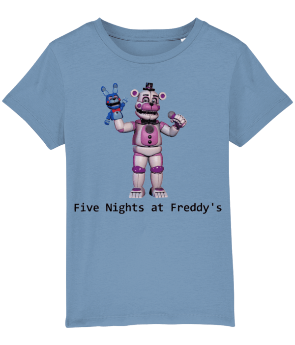 funtime fasbear five nights at freddy's child's t-shirt FNaF