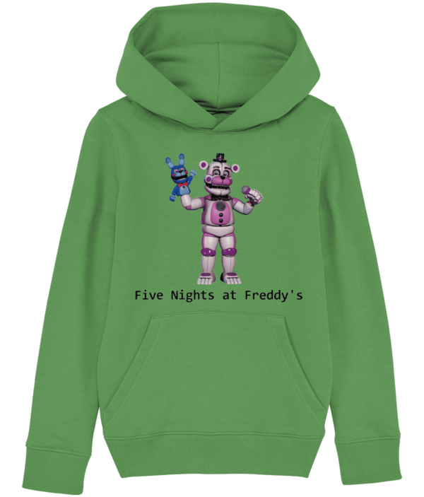 funtime fasbear from Five nights at Freddy's child's hoodie funtime fasbear