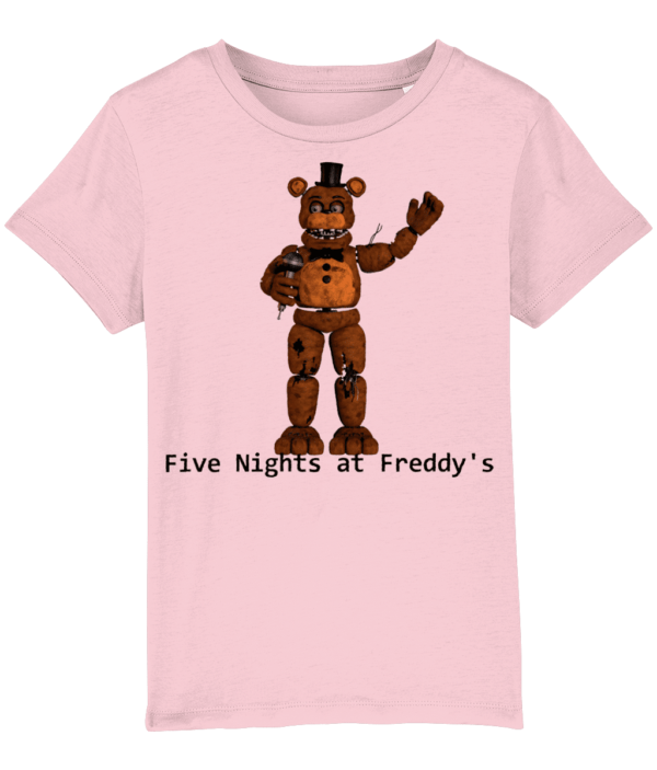 fasbear from Five nights at Freddy's child's tshirt fasbear from Five nights at Freddy's