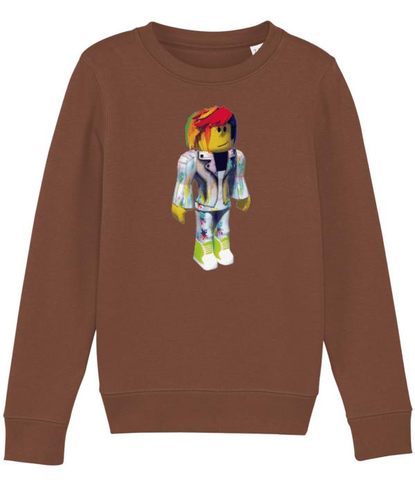 pixel artist from Roblox child's sweatshirt pixel artist from Roblox