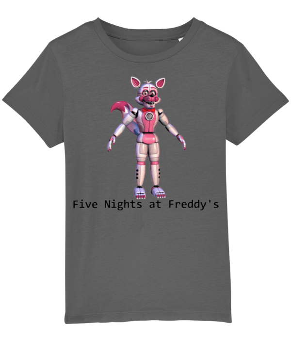 toy foxy from Five nights at Freddy's child's t-shirt FNaF Five nights at Freddy's