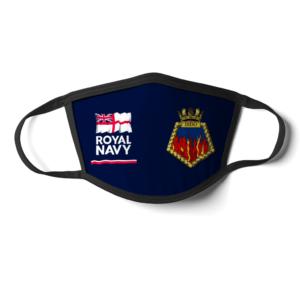 Royal Navy HMS Dido Face Mask Royal Navy HMS Dido Face Mask