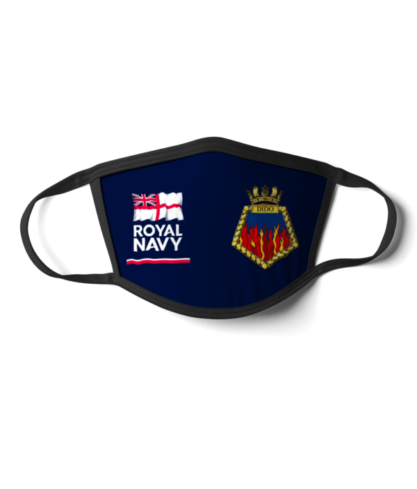 Royal Navy HMS Dido Face Mask