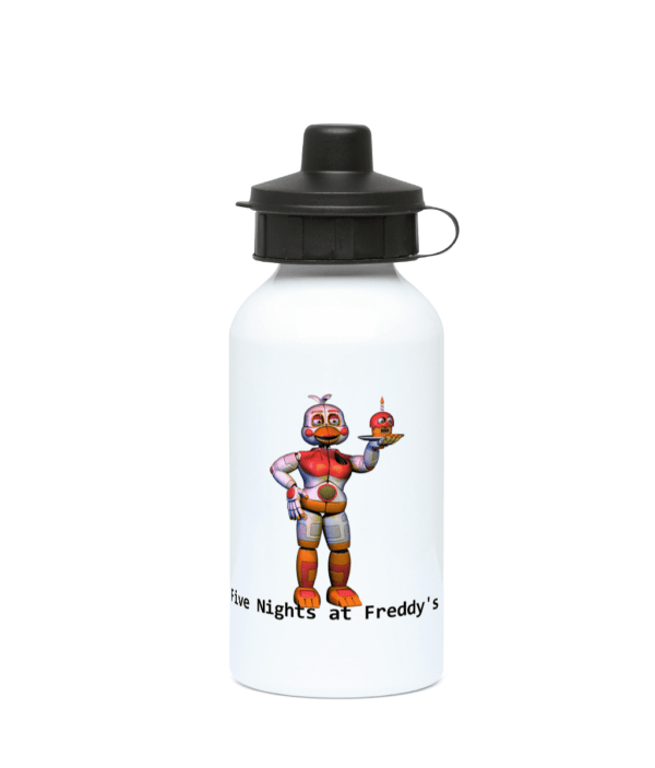 funtime chica 400ml Water Bottle Five nights at Freddy's