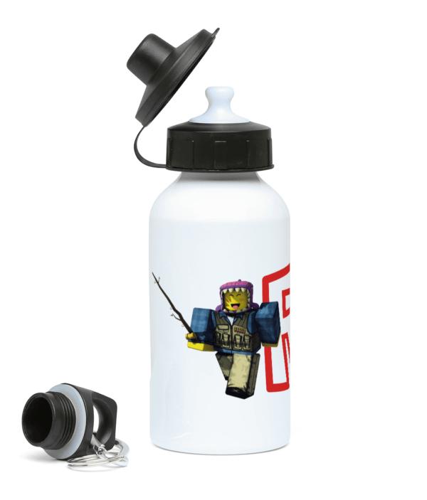 meep city fisherman 400ml Water Bottle meep city fisherman 400ml Water Bottle