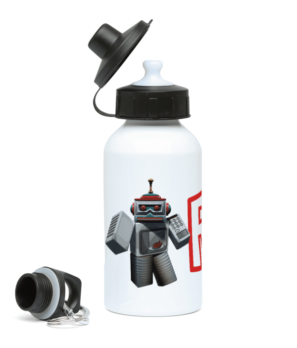 Microwave spybot 400ml Water Bottle microwave spybot