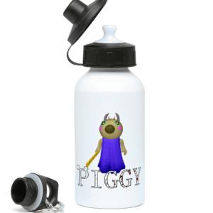 Teacher from Piggy Game 400ml Water Bottle