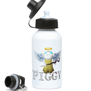 Angel from Piggy game 400ml Water Bottle