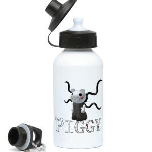 slender from piggy game 400ml Water Bottle