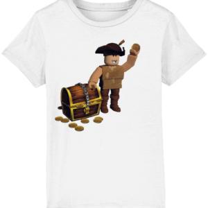 buck eye the pirate child's t-shirt