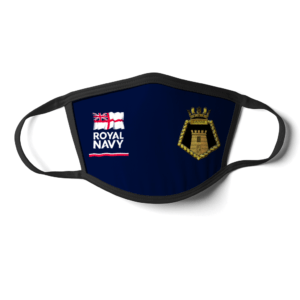 Royal Navy HMS Danae Face mask
