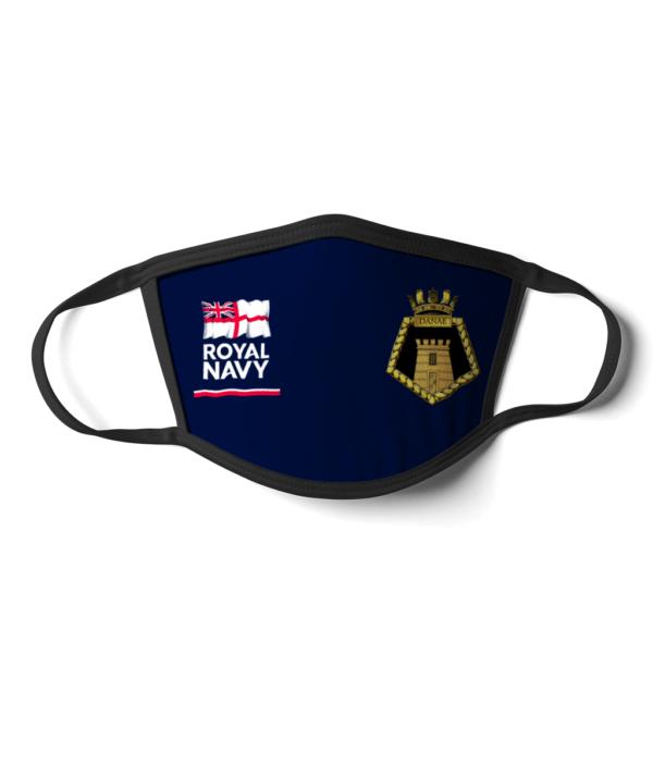 Royal Navy HMS Danae Face mask Royal Navy HMS Danae Face mask