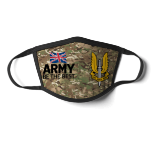 Special Air Service Camo style face mask