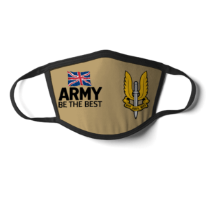 Special Air Service Sand style face mask