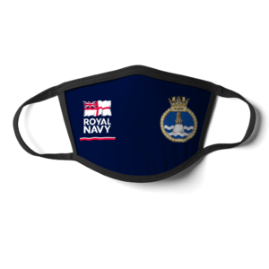 HMS Albion Royal Navy Face Mask