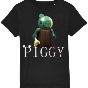 Zombie from piggy game child's t-shirt