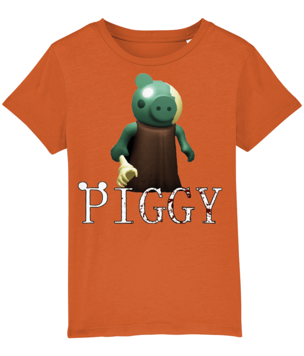 Zombie from piggy game child's t-shirt piggy game