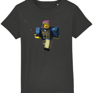meep city fisherman from Roblox, child's t-shirt