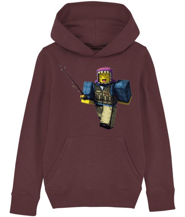 Roblox child's hoodie meep city fisherman