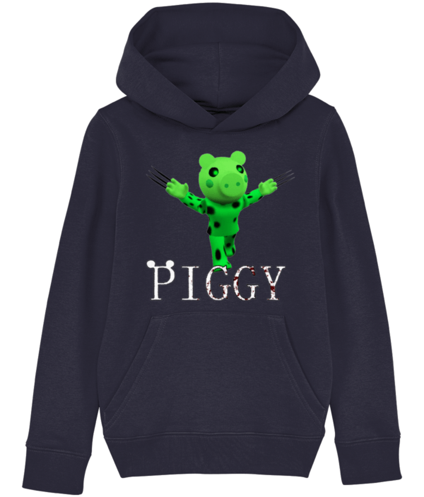 Dino Piggy child's hoodie dino piggy