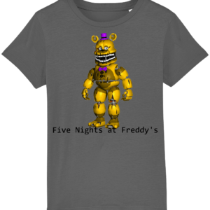 yellow Freddy from Five night's at Freddy's