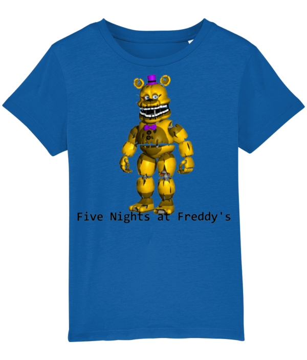 yellow Freddy from Five night's at Freddy's Five nights at Freddy's