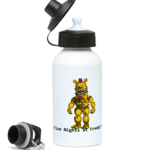yellow Freddy from Five night's at Freddy's 400ml Water Bottle
