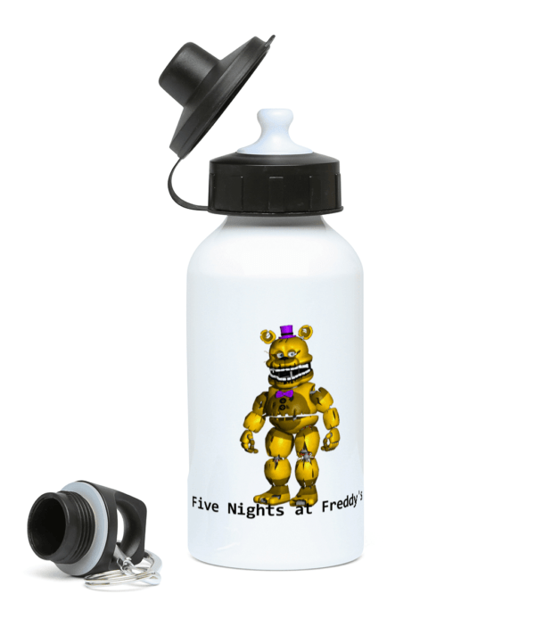 yellow Freddy from Five night's at Freddy's 400ml Water Bottle Five Nights at Freddy's 400ml Water Bottle