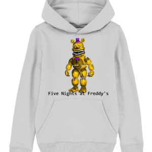 yellow Freddy from Five night's at Freddy's child's hoodie
