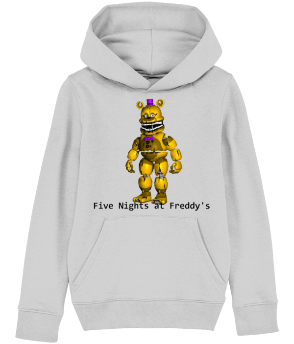 yellow Freddy from Five night's at Freddy's child's hoodie five nights at freddie'e