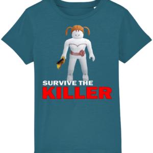 annie survive-the-killer child's t shirt