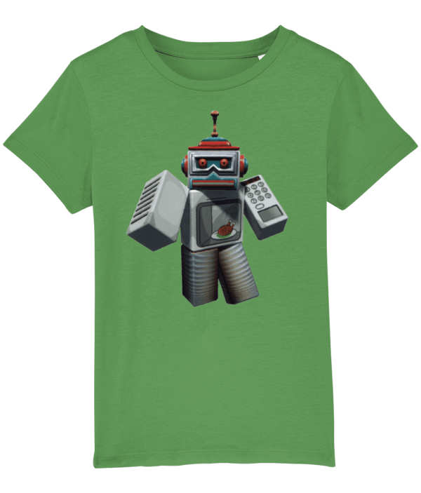 microwave spybot from Roblox, child's t-shirt microwave