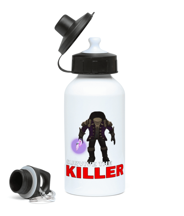 headless harry survive-the-killer 400ml Water Bottle headless harry survive-the-killer 400ml Water Bottle