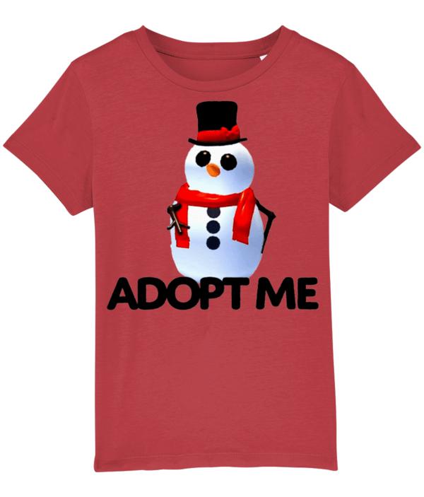 adopt me snowman child's t-shirt adopt me