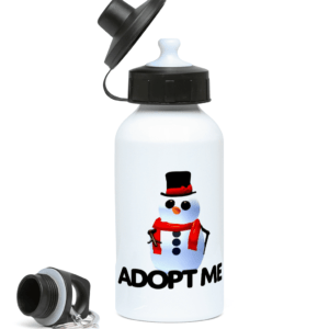 adopt me snowman 400ml Water Bottle