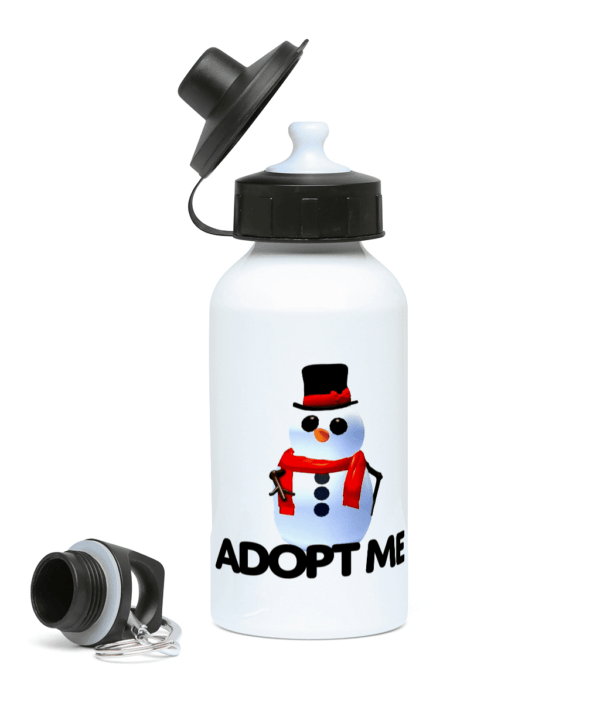 adopt me snowman 400ml Water Bottle adopt me snowman 400ml Water Bottle