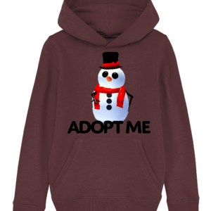 adopt me snowman child's hoodie